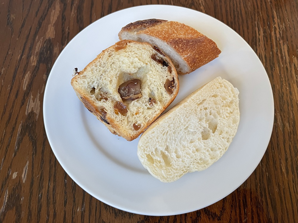 da TAKASHIMAダタカシマ、自家製パン