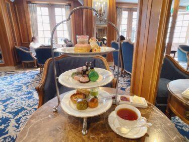 ホテルニューグランド『ラ・テラス』春のアフタヌーンティーで桜と抹茶のティータイム