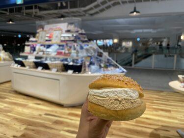 YOKOHAMA AIR CABIN開業記念『ありあけハーバースタジオ』のキャラメルクリームマリトッツォ